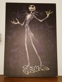 The Nightmare Before Christmas Canvas for Sale in Renton,  WA
