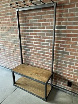 Beatiful Restoraton Hardware Coat And Shoe Rack And Bench for Sale in Brooklyn,  NY