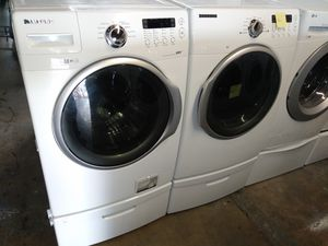 🌅Samsung washer dryer electric nice set🌅 for Sale in Houston, TX