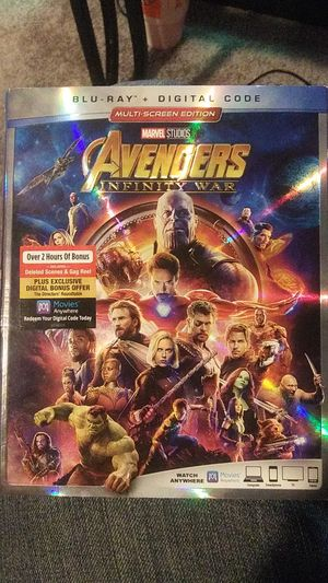 Avengers infinity war for Sale in Riverdale Park, MD