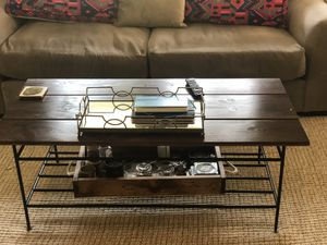 Rectangular coffee table for Sale in Merrick, NY