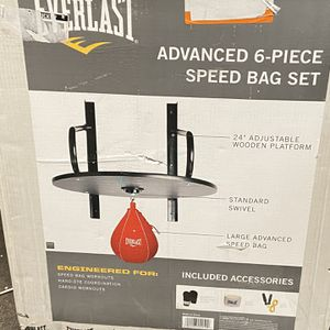 Everlasting 6 Piece Speed Bag Set for Sale in Arvin, CA