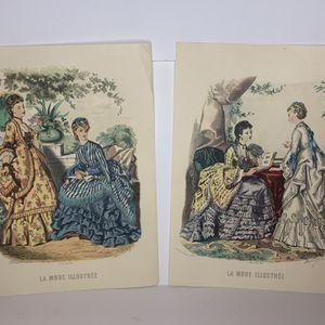Vintage La Mode Illustree Prints for Sale in Phoenix, AZ