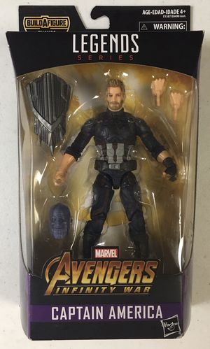 MISB Marvel Legends Captain America Action Figure from BAF Thanos Wave Avengers for Sale in Chicago, IL