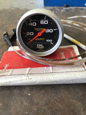 Auto Meter Oil Presure for Sale in Anaheim, CA