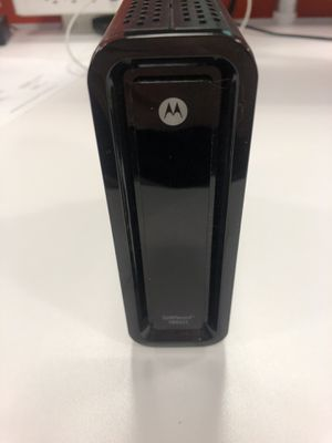 Motorola Surfboard SB6121 Modem for Sale in MIDDLE CITY WEST, PA