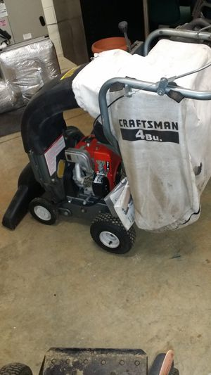 Chipper vacuum 9 horsepower Craftsman for Sale in Hyattsville, MD