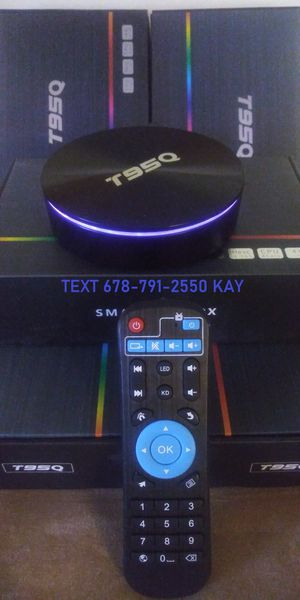 Amazing 4K HDR+ Android TV Box streamer so much faster than sticks! for Sale in Forest Park, GA
