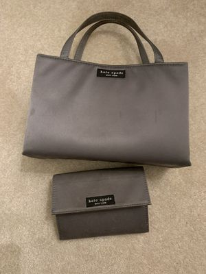 Authentic Kate Spade handbag purse clutch with matching wallet for Sale in Sunnyvale, CA