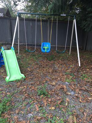 Swings + Slide for Sale in Lake Stevens, WA