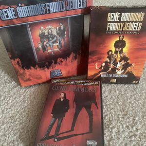 Gene Simmons KISS DVD Family Jewels for Sale in Summerville, SC