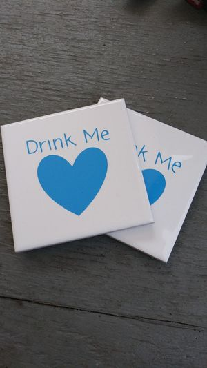 Drink Me Coasters for Sale in Akron, OH