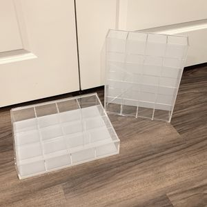 Muji Acrylic display shelve storage unit *2 for Sale in Dallas, TX
