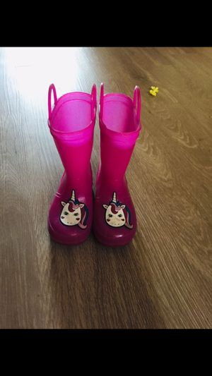 Unicorn rain boots for Sale in Columbus, OH