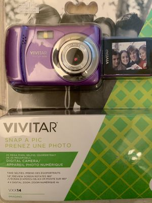 Vivitar 20 megapixel digital camera for Sale in Pompano Beach, FL