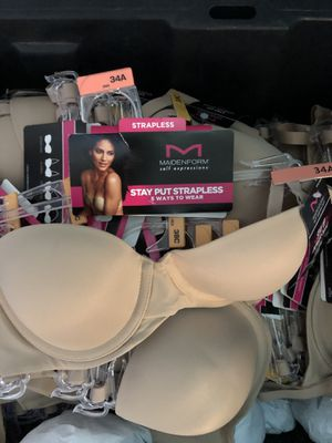 Maidenform bras Stay Put Strapless Underwire for Sale in Santa Fe Springs, CA