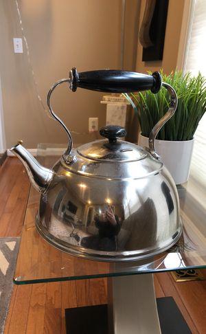 Steel kettle $ 7 for Sale in Herndon, VA