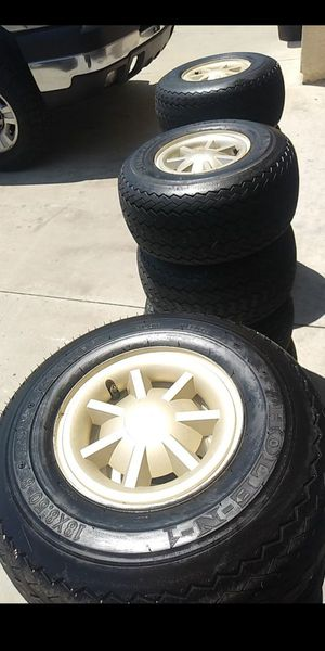 Golf cart rims and tires for Sale in Hemet, CA
