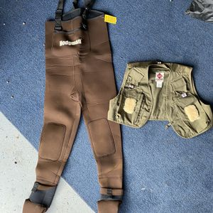 Fishing Waders And vest for Sale in Damascus, OR
