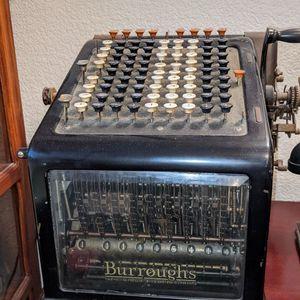 Burroughs Adding Machine for Sale in Dublin, CA