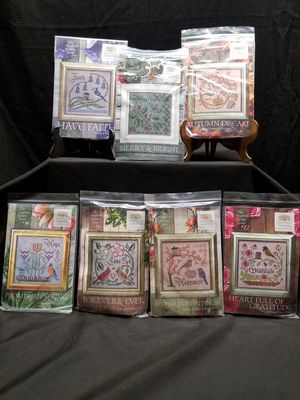 12 NEW needlepoint kits*The Songbird garden Series for Sale in Downers Grove, IL