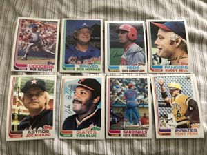 Lot of 8 vintage baseball cards for Sale in Lowell, MA