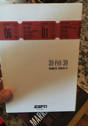 ESPN 30 For 30 DVD set (volume 1) for Sale in Nashville, TN