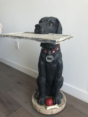 Black Lab end table for Sale in San Francisco, CA