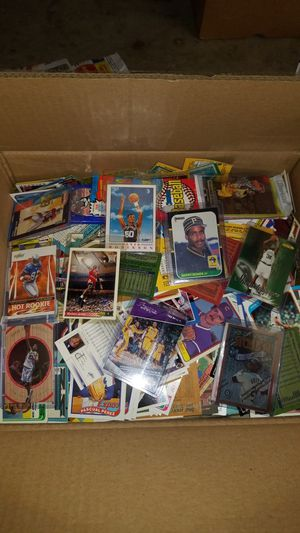 Sports cards- huge basketball cards , football cards , baseball cards around 20lbs, packs unopened. Lot #G for Sale in Roseburg, OR