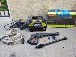RYOBI 1,600 PSI 1.2 GPM Electric Pressure Washer for Sale in Westminster, CA