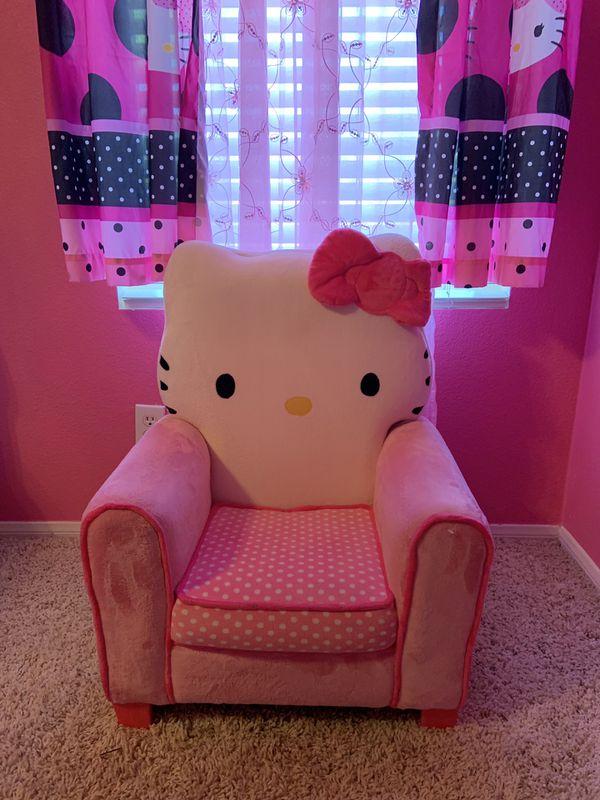 Hello kitty super cute soft chair
