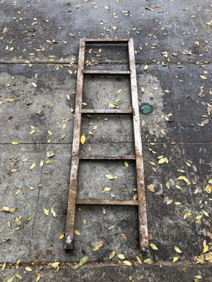 Industrial Iron Metal 5 Step Ladder for Sale in Fresno, CA
