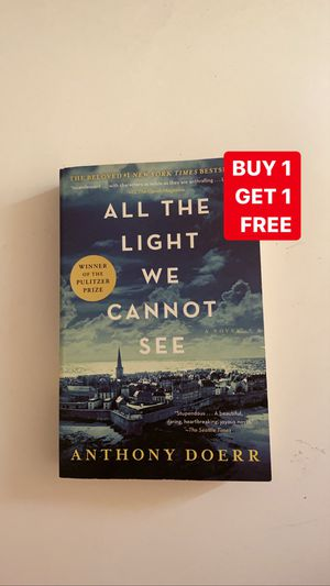 All the Light We Cannot See by Anthony Doerr for Sale in Greer, SC