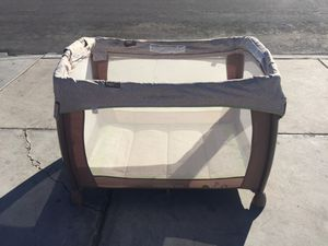 Ingenuity Washable and Playard Baby Crib for Sale in Las Vegas, NV