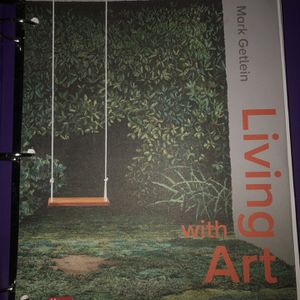 """Loose Leaf """"Living with Art"""" College Textbook for Sale in Byron, CA"""