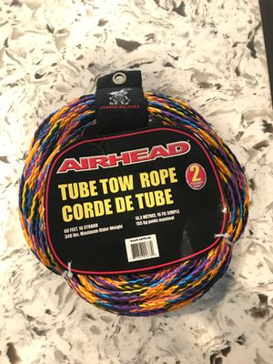 New Tube Tow Rope for boats water sports for Sale in Chino, CA