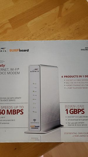 MODEM (New): Arris Surfboard DOCSIS 3.0 Cable Modem for Sale in Buena Park, CA