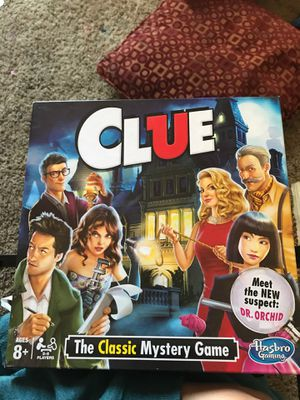 Clue the classic mystery board game for Sale in Glendale, AZ