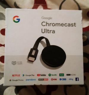Google Chromecast Ultra. Brand New.In Box for Sale in Elgin, SC
