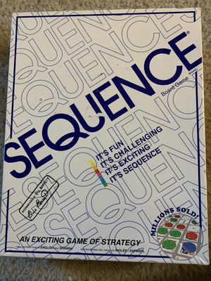 Sequence board game for Sale in Schaumburg, IL