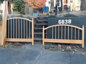 FREE on Montana Avenue 97217! Queen-size bed frame FREE. for Sale in Portland, OR