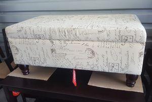 Script storage ottoman for Sale in San Leandro, CA