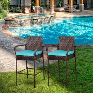 2 new bar height chairs pool chairs for Sale in Norco, CA
