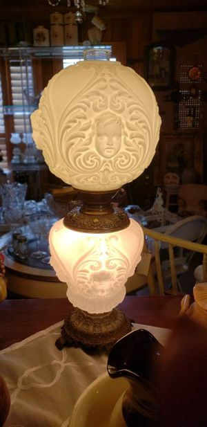 Gone with the wind cherrub antique lamp for Sale in Seattle, WA