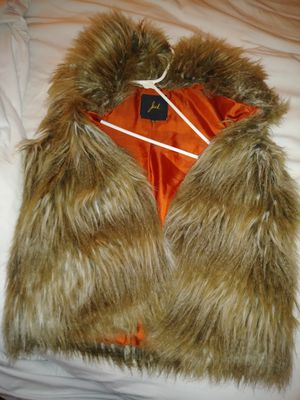 Faux fur vest for Sale in Sterling Heights, MI