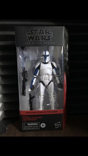 Star Wars Black Series Clone Trooper Lieutenant Hasbro exclusive BNIB for Sale in San Jose, CA