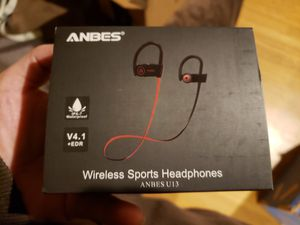 Anbes wireless sports headphones hooks for Sale in Fresno, CA