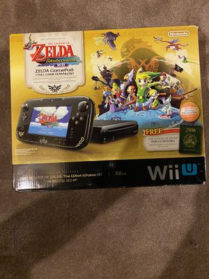 Nintendo wiiU wii U system Zelda edition with original box for Sale in Plainfield, IL