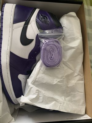 Jordan 1 purple court size 4 - 7 Gs for Sale in The Bronx, NY
