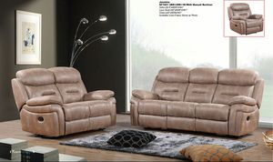 3pc Taupe Recliner Set for Sale in Las Vegas, NV